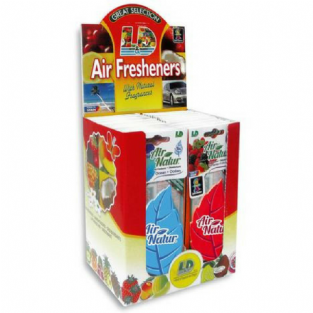 Premium Hanging Car Air Fresheners (Box of 50)